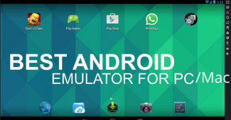 Android Emulators for pc mac