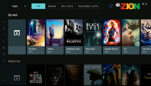 tvzion android tv